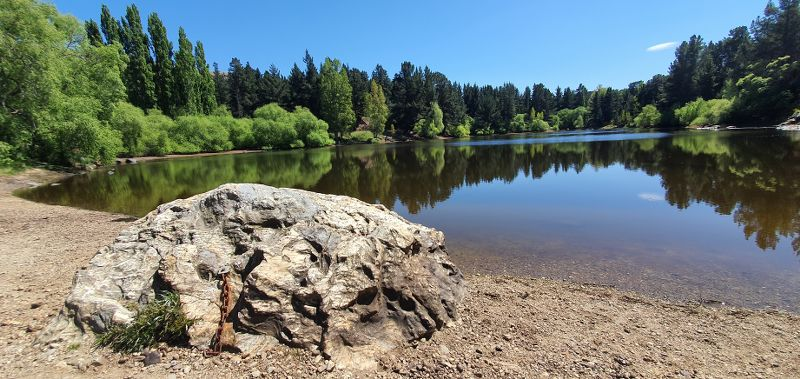 Picnic area at Pinders Pond