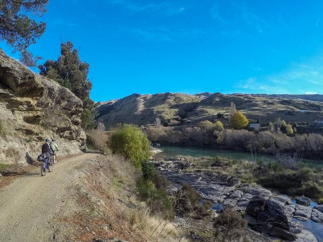 Roxburgh to Millers Flat - Clutha Gold Bike Trail