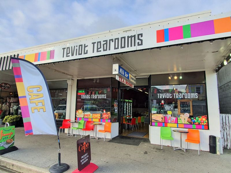 Teviot Tearooms in Roxburgh Central Otago, Copyright Roxburgh Guide