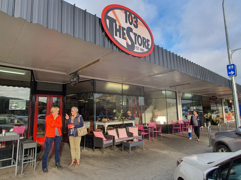 103 The Store cafe in Roxburgh